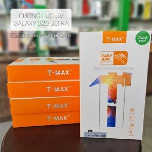 Dán màn hình Galaxy S20 Ultra - Kính cường lực keo UV T-MAX